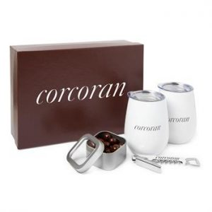 An example of a wine themed gift set